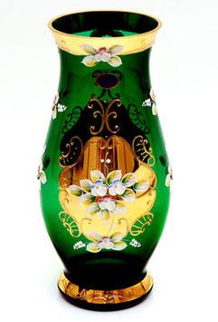 Ваза для цветов ЛЕПКА СМАЛЬТА ЗЕЛЕНАЯ 40 см