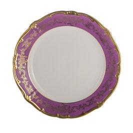 Блюдо круглое Weimar ЮВЕЛ Фиолетовый 30 см ( артикул МН 54784 В )