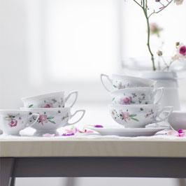 Немецкий чайный сервиз Rosenthal ПИНК РОЗЕ на 6 персон 21 предмет ( артикул МН 32641 В )
