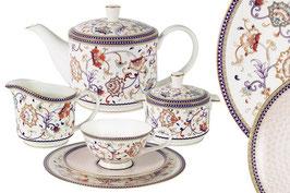 Чайный сервиз Emily КОРОЛЕВА АННА на 6 персон 21 предмет