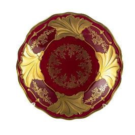 Тарелка закусочная Weimar ЮВЕЛ Красный ЮТТА 19 см ( артикул МН 59635 В )