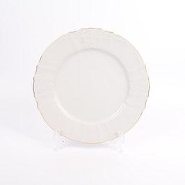 Набор закусочных тарелок Bernadotte  ЗОЛОТОЙ ОБОДОК 21 см