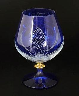 Набор бокалов для бренди АЛЕКСАНДРА УЗОР Bohemia Crystal 400 мл