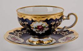 Набор для кофе Weimar САНКТ ПЕТЕРБУРГ кобальт на 6 персон 12 предметов ( артикул МН 6378 В )
