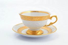 Набор для чая Sterne Porcelan МАТОВАЯ ПОЛОСА на 6 персон 12 предметов