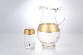 Набор для воды КЛАУДИЯ МАТОВАЯ  Bohemia Crystal 7 предметов