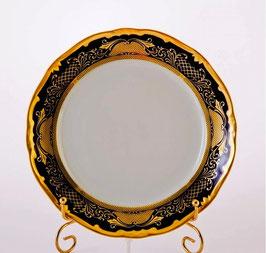Набор постановочных тарелок Weimar СИМФОНИЯ ЗОЛОТАЯ КОБАЛЬТ 24 см ( артикул МН 5625 В )