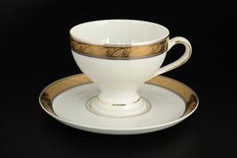 Набор для чая ЯНА ЗОЛОТАЯ ЛЕНТА Thun на 6 персон 12 предметов