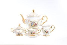 Чайный сервиз Moravec ФЕДЕРИКА МАДОННА на 6 персон 15 предметов