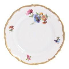 Набор закусочных тарелок Queens Crown МЕЙСЕНСКИЙ БУКЕТ 19 см