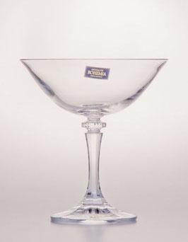 Набор бокалов для мартини  КЛЕОПАТРА Bohemia Crystal 180 мл