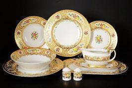 Столовый сервиз Falkenporzellan VIENNA CREME GOLD на 6 персон 25 предметов