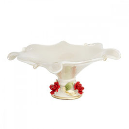 Ваза для фруктов White Crystal 30*30*16 см