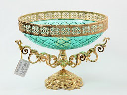 Декоративная ваза для фруктов Rozaperla 40 см