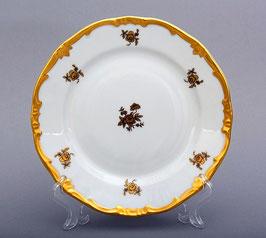 Набор десертных тарелок Weimar РОЗА ЗОЛОТАЯ 17 см ( артикул МН 266 В )