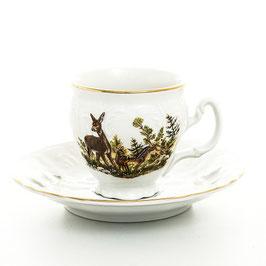 Набор для кофе ОХОТА Bernadotte на 6 персон 12 предметов