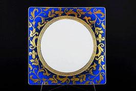 Набор подстановочных тарелок Falkenporzellan TOSCA BLUESHADE GOLD 27 см