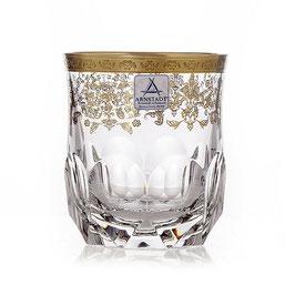 Немецкий Хрусталь ARNSTADT. Набор стаканов для виски ПРИНЦЕСС 250 мл ( артикул МН 28203 В )