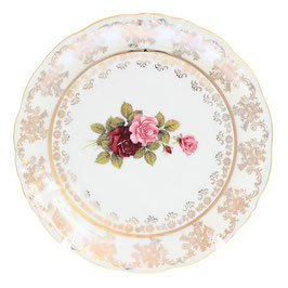 Набор десертных тарелок РОЗА Carlsbad 17 см