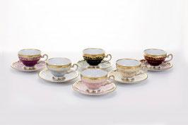 Набор для кофе Weimar ЮВЕЛ Калорс на 6 персон 12 предметов ( артикул МН 28392 В )