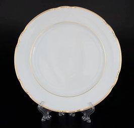 Набор закусочных тарелок КОНСТАНЦИЯ ЗОЛОТОЙ ОБОДОК Thun 21 см