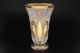 ХРУСТАЛЬ С ЗОЛОТОМ ваза для цветов 30 см