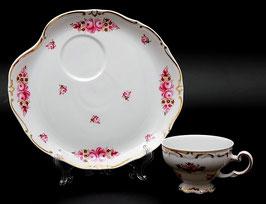 Набор для чая Weimar ЭГОИСТ РОЗА Розовая 2 предмета ( артикул МН 10673 В )