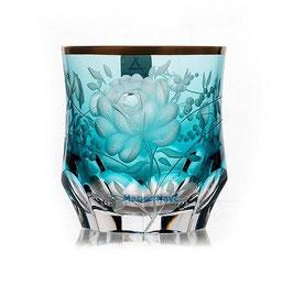 Набор хрустальных стаканов для виски ARNSTADT ПРИМЕРОЗЕ ГОЛД 260 мл ( артикул МН 32465 В )