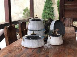 Набор для кухни Brioni Kitchenware БРИОНИ ВАЙТ 9 предметов