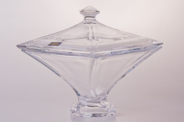 Ваза для конфет КВАДРО  Bohemia Crystal 20,5 см