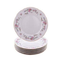 Набор десертных тарелок ЦВЕТЫ Bernadotte 17 см