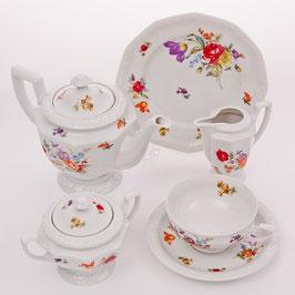 Немецкий чайный сервиз Rosenthal СОМЕРСТАРУС МАРИЯ на 6 персон 21 предмет ( артикул Мн 19360 В )