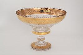 Хрустальная ваза для фруктов Max Crystal 25 см