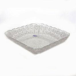 Хрустальная ваза для фруктов Glasspo 28 см