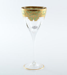Набор бокалов для вина Astra Gold NATALIA GOLDEN TURQUOISE DECOR 210 мл