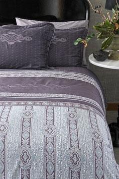 Постельное Белье VALERON SATIN JACQUARD 2 спальное CRISTA Фиолетовый