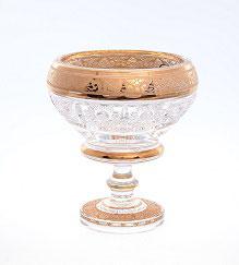 Хрустальная ваза для варенья Max Crystal 13 см