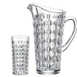 Набор для воды ДИАМАНД Bohemia Crystal 7 предметов