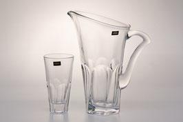 Набор для воды АПОЛЛО ПРОЗРАЧНЫЙ Bohemia Crystal 7 предметов