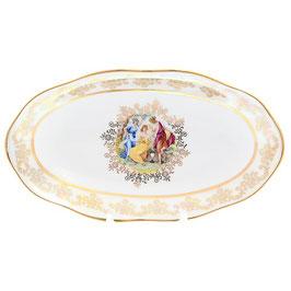 Блюдо овальное  МАДОННА Queens Crown 25 см