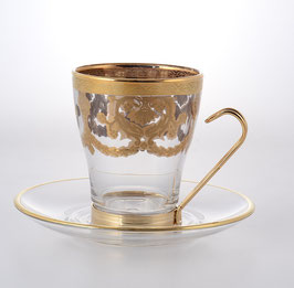 Набор для чая VENEZIANO COLOR Art Decor на 6 персон 12 предметов