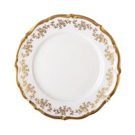 Набор десертных тарелок МАРИЯ ТЕРЕЗА БЕЛАЯ Bavarian Porcelain 17 см