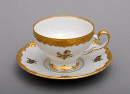 Набор для кофе Weimar РОЗА ЗОЛОТАЯ на 6 персон 12 предметов ( артикул МН 30173 В )