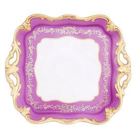 Блюдо квадратное Weimar ЮВЕЛ Фиолетовый 21 см ( артикул МН 17714 В )