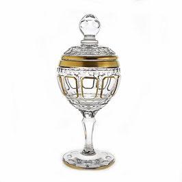 Хрустальная ваза для конфет ARNSTADT КЛАССИК 36 см ( артикул МН 36978 В )