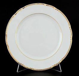 Набор закусочных тарелок КОНСТАНЦИЯ ЗОЛОТОЙ ОБОДОК Thun 19 см