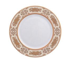 Набор закусочных тарелок Thun МАРИЯ ЛУИЗА ЗОЛОТАЯ РОЗА 19 см