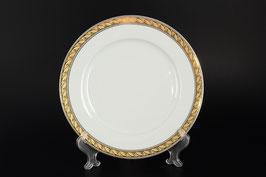 Набор подстановочных тарелок ЯНА ЗОЛОТО С ПЛАТИНОЙ Thun 25 см