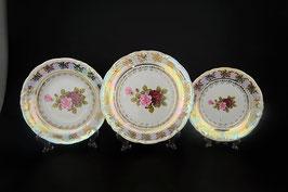 Набор тарелок для сервировки стола РОЗА Carlsbad 18 штук