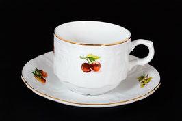 Набор для чая Bernadotte ФРУКТЫ на 6 персон 12 предметов